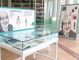 Exposición homenaxe a Antón Fraguas con motivo do día das Letras Galegas 2019